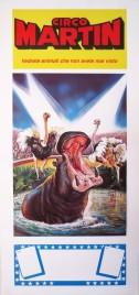 Circo Martin Circus poster - Italy, 1992