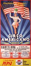 Circo Americano Circus poster - Italy, 1968