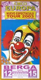 Circo Europa Circus poster - Spain, 2003