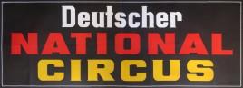 Deutscher National Circus Circus poster - Germany, 0