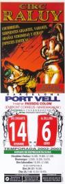 Circ Raluy Circus poster - Spain, 2002