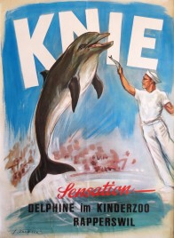 KNIEs Kinderzoo Circus poster - Switzerland, 1965