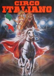 Circo Italiano Circus poster - Italy, 1992