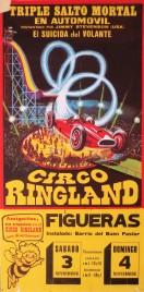 Circo Ringland Circus poster - Spain, 1976