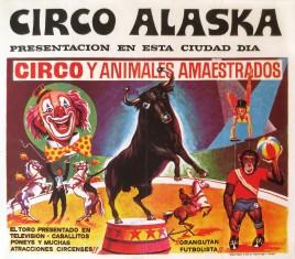Circo Alaska Circus poster - Spain, 1974