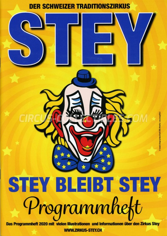 Stey Circus Program - Switzerland, 2020