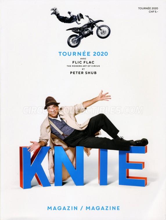 Knie Circus Program - Switzerland, 2020