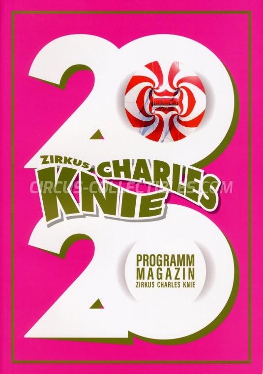 Charles Knie Circus Program - Germany, 2020