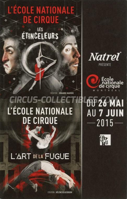 L'École Nationale de Cirque Circus Program - Canada, 2015