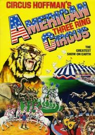 Hoffman's American Three Ring Circus - Program - England, 1984