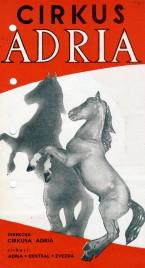 Cirkus Adria - Program - Serbia, 1960
