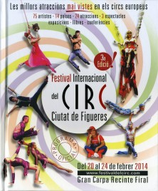3a Festival International del Circ de Figueres - Program - Spain, 2014