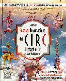 5a Festival International del Circ de Figueres - Program - Spain, 2016