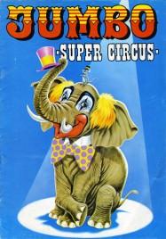 Jumbo - Super Circus - Program - Italy, 1977