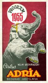 Cirkus Adria - Program - Serbia, 1955