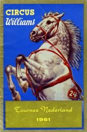 Circus Williams - Program - Germany, 1961