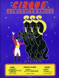 Cirque des Shriners - Program - Canada, 1990