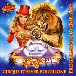 Bouglione - Cirque d'Hiver - Program - France, 2016
