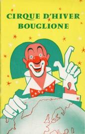 Bouglione - Cirque d'Hiver - Program - France, 1960