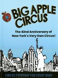 Big Apple Circus - Program - USA, 2019
