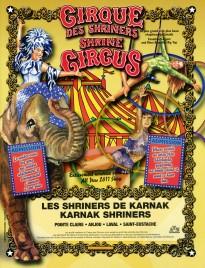 Shrine Circus - Program - Canada, 2011