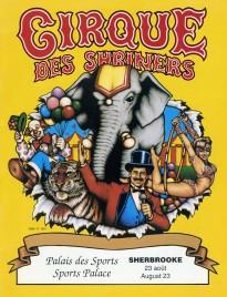 Cirque des Shriners - Program - Canada, 1991
