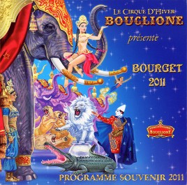 Bouglione - Cirque d'Hiver - Program - France, 2011
