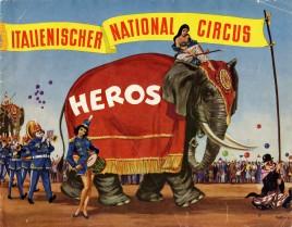 Circus Heros - Program - Italy, 1963