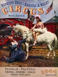 Ringling Bros. and Barnum & Bailey Circus - Program - USA, 1944