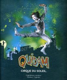 Cirque du Soleil - Quidam - Program - Canada, 1996