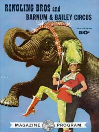 Ringling Bros. and Barnum & Bailey Circus - Program - USA, 1964