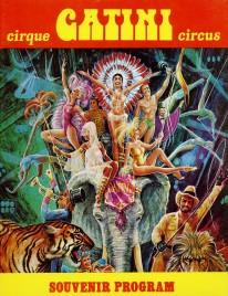 Circus Gatini - Program - Canada, 1977