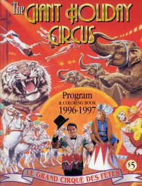 The Giant Holiday Circus - Program - Canada, 1996
