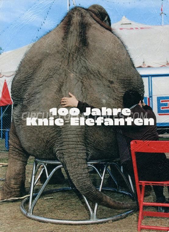 100 Jahre Knie-Elefanten - Book - 2020