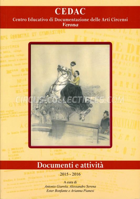 CEDAC - Verona - Book - 2016