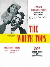 The White Tops - Magazine - USA, 1959