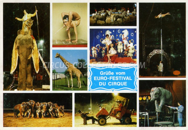 Busch-Roland Circus Ticket/Flyer - Germany 1979