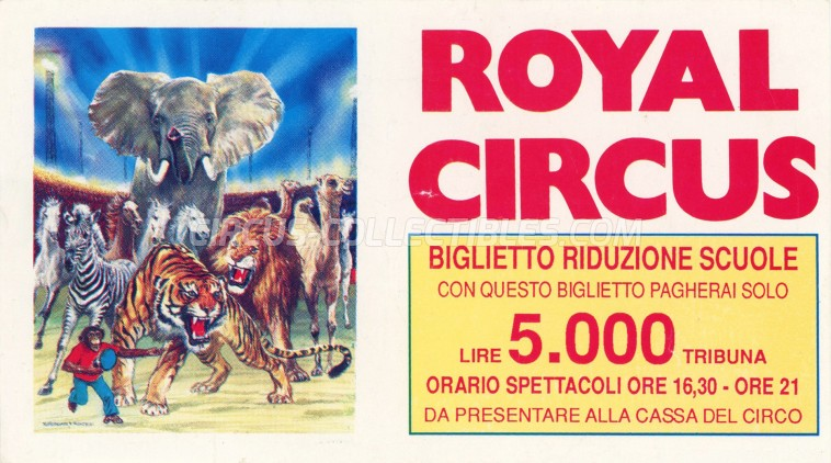 Royal (IT) Circus Ticket/Flyer -  0