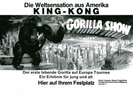 Gorilla Show Circus Ticket - 0