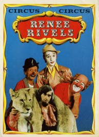 Circus Renee Rivels Circus Ticket - 1978