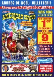 American Circus Circus Ticket - 2018