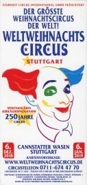 Weltweihnachts Circus Stuttgart Circus Ticket - 2018