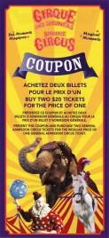 Shrine Circus Circus Ticket - 2012