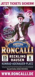 Circus Roncalli - Storyteller Circus Ticket - 2018