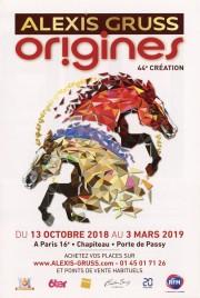 Alexis Gruss - Origines Circus Ticket - 2018
