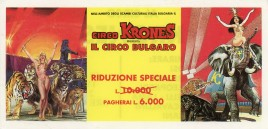 Circo Krones Circus Ticket - 1996