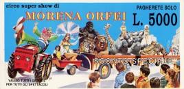 Circo Morena Orfei Circus Ticket - 0