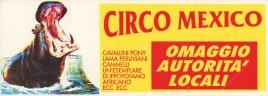 Circo Mexico Circus Ticket - 0