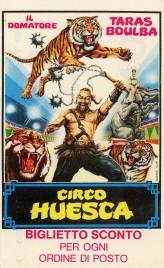Circo Huesca Circus Ticket - 1984