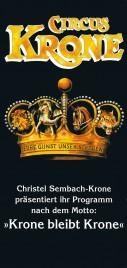 Circus Krone Circus Ticket - 0